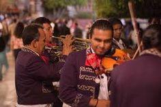 The mariachis on Plaza Garibaldi.