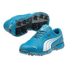 e0a9ecad0f38 Awesome Incredbly Puma Super Cell Fusion Ice LE Golf Shoes - Mens Vivid  Blue White