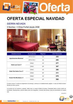 Oferta Navidad Sierra Nevada desde 255 €, 5 noches + 4 días de forfait. Salidas del 22 al 27 dic ultimo minuto - http://zocotours.com/oferta-navidad-sierra-nevada-desde-255-e-5-noches-4-dias-de-forfait-salidas-del-22-al-27-dic-ultimo-minuto/