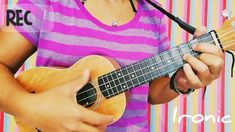 Ironic - Alanis Morissette (Ukulele Cover - YouTube) Ukulele, Guitar, Alanis Morissette, Music Instruments, Cover, Youtube, Musical Instruments, Blankets