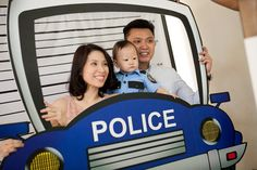 Chase's Cops and Robbers Themed Party – 1st Birthday - Party Doll Manila
