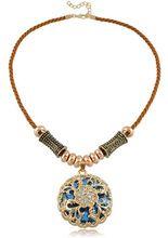 Damen Legierung Geschenke Retro Stil Halskette