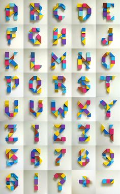 What a beautiful alphabet! Handmade Typography is a favourite of mine. Typography Served, Creative Typography, Typography Fonts, Graphic Design Typography, Hand Lettering, Typography Images, Alphabet A, Inspiration Typographie, Schrift Design