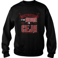 Gift Tee. I'm Awesome. I'm CEJA #gift #ideas #Popular #Everything #Videos #Shop #Animals #pets #Architecture #Art #Cars #motorcycles #Celebrities #DIY #crafts #Design #Education #Entertainment #Food #drink #Gardening #Geek #Hair #beauty #Health #fitness #History #Holidays #events #Home decor #Humor #Illustrations #posters #Kids #parenting #Men #Outdoors #Photography #Products #Quotes #Science #nature #Sports #Tattoos #Technology #Travel #Weddings #Women