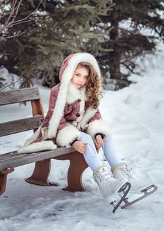 by Diana lipkina on Snow Fashion, Holiday Fashion, Kids Fashion, Cute Kids Photography, Snow Photography, Kids Around The World, Cool Girl Pictures, Winter Kids, Winter Pictures