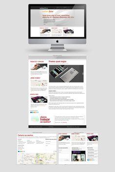 Creación de identidad corporativa y web de Univerfone, un distribuidor Yoigo de referencia.