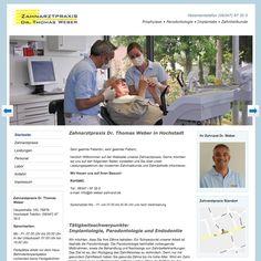 Contao Webseite für Zahnarzt aus Hochstadt