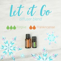 Let is go with this beautiful blend of Forgive and Frankincense essential oil. The balancing and calming aromas help you forget about your worries and anxieties. Perfect for the holiday season.