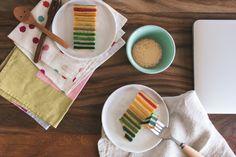 Rainbow Cake - Malaysian Edition (Kek Lapis)
