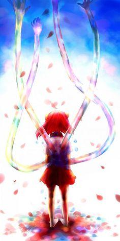 Tags: Anime, Fanart, Elfen Lied, Pixiv, Diclonius