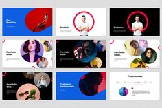 """Ad: Rave Circle Powerpoint Template by SevenBox on Building your presentation from scratch has never been so easy. With """"RAVE"""" Minimal PowerPoint Template now you can create a Circle Graphic Design, Graphic Design Typography, Branding Design, Brand Presentation, Presentation Layout, Book Design Layout, Design Design, Keynote Design, Yearbook Theme"""