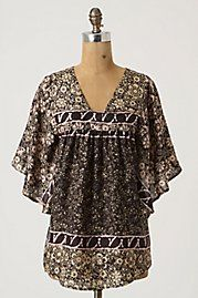 62f9ad0a74e25c flowy sleeved blouse Anthropologie Clothing
