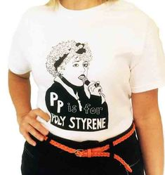Feminist Shirt E is for Emma Goldman ADULT Sizes T-Shirt & Screenprint iBa5xB
