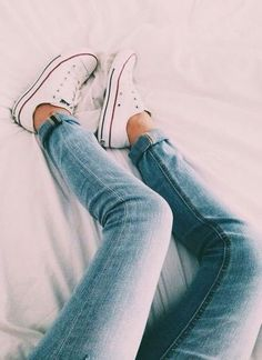 Can't go wrong with Chucks and skinnies