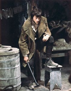 Oliver Reed as Bill Sykes in Oliver