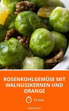 Rosenkohlgemüse mit Walnusskernen und Orange - smarter - Zeit: 15 Min. | eatsmarter.de