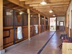 The Braun Ranch stable