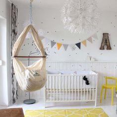 NONOMO® Babywiege | Federwiege | Babyhängematte -Premium-