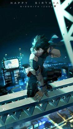 My Hero Academia - Izuku Midoriya My Hero Academia Episodes, My Hero Academia Memes, Hero Academia Characters, Boku No Hero Academia, My Hero Academia Manga, Deku Anime, Deku Boku No Hero, Villain Deku, Hero Wallpaper