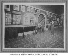 Macauley Theater lobby, Louisville, Ky., 1913