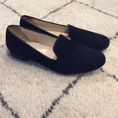 Cole Haan flats 7.5 Soft black material, like new Cole Haan Shoes Flats & Loafers