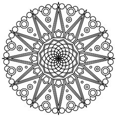 Tons of printable mandala designs free for download. Print these mandala coloring pages right from your browser. Mandalas Painting, Mandalas Drawing, Mandala Coloring Pages, Coloring Book Pages, Printable Coloring Pages, Zentangles, Abstract Coloring Pages, Coloring Sheets, Mandala Pattern