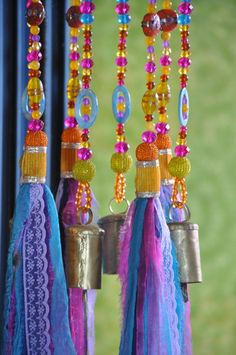 Colorful Sun Catcher Beaded Mobile With Brass #glassbeadstrands #ceilinghanging #bellsdecor #bellwindchimes #windchimes #uniquewindchimes #beadedsuncatcher #glassbeadchimes #glasssuncatchers #glasswindchimes #turquoisemobile #colorfullsuncatcher #colorfulwindchimes Crystal Beads, Glass Beads, Beaded Curtains, Window Curtains, Ceiling Hanging, Hanging Mobile, Sun Catcher, Bohemian Decor, Boho