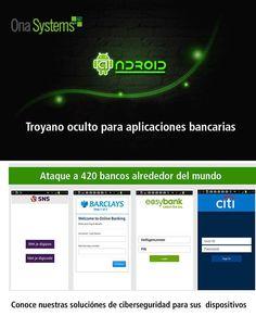 ¡Peligro! Troyano para Android oculto en aplicaciones bancarias.