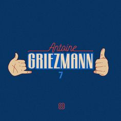 Antoine Griezmann. #Antoine #griezmann #goal #ceremony #hotline #bling #drake #france #atleticomadrid #no7 #casual #football #brand #accc #illust #design #graphic #일상#축구 #브랜드 #일러스트 #디자인 #그래픽