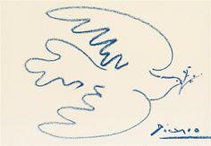 Colombe de la Paix de Pablo Picasso