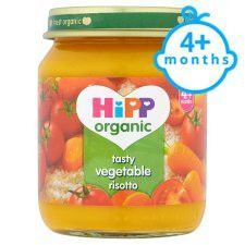 Hipp 4 Months+ Organic Tasty Vegetable Risotto 125g