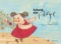 """Ill: Selda Marlin Soganci Verlag: NP ISBN: 3-85326-275-9 Inhaltsangabe Ein Kind zeichnet einen Engel. """"Danke!"""", sagt der Engel. """"Sieht schön aus. Aber mal mir jetzt nicht diese Flügel. Du weißt schon, die mit den großen Federn. Sind altmodisch. Umständlich. Lass dir etwas Neues"""