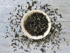 Earl Grey Lavender Black Tea, Luxury Loose Leaf Blend, 3.5 oz. Tin, French Bergamot, Provence Lavender Blossoms, Easter Tea. $14.00, via Etsy.