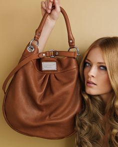 Welcome, girl's face, to my bag board. Marc by Marc Jacobs Classic Q Hillier Hobo Handbag