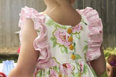 Clara Pattern - Top & Bottoms by Violette Field Threads | Violette Field Threads sizes 2t through 10 years