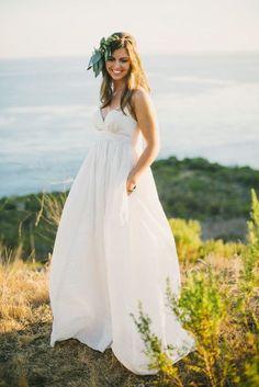¿Qué talle será el ideal para tu vestido de novia?