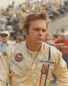 """Peter Revson was killed during a test session on 22 March 1974, before the South African Grand Prix. The nephew of Revlon Cosmetics magnate Charles Revson, he was an heir to his father's fortune (reportedly worth over $1 billion). He was a young, handsome bachelor who was described as a """"free spirit"""" who passed up an easy life for one of speed and danger. His brother Douglas was also killed in a crash in Denmark in 1967. Peter and Douglas are interred together in a crypt at Ferncliff…"""