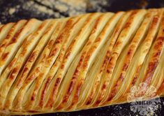 Sivas Katmeri / Telli Katmer   Cahide Sultan بِسْمِ اللهِ الرَّحْمنِ الرَّحِيمِ Bread, Pizza, Food, Brot, Essen, Baking, Meals, Breads, Buns