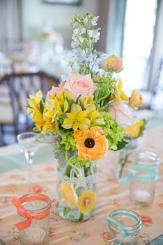 daffodil, pastel weddings, vintag pastel, happi flower