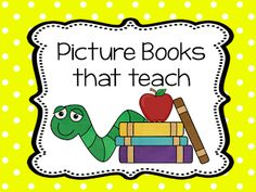 Teach123: Books That Teach----books for teaching many reading skills.  Need to check this out.