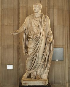 Statue of Tiberius louvre 3 Roman Toga, Louvre Museum, Hotel Des Invalides, Roman Sculpture, Roman Fashion, Ancient Rome, Roman Empire, Belle Photo, Art And Architecture