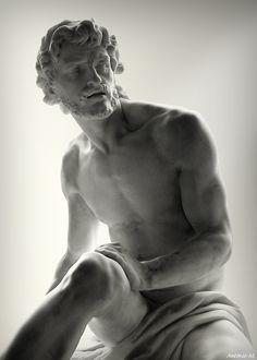 Archimède by Simon-Louis Boquet, 1752 (Musée du Louvre, Paris) Carpeaux, Louvre Paris, Poses, Love Art, Oeuvre D'art, Sculpture Art, Clay Sculptures, Art History, Amazing Art