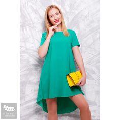 Платье FashionUp «Tail»  Состав: креп-шифон  Для выбора размера и цвета посетите интернет-магазин: https://4m.com.ua/20028-plate-fashionup-tail-izumrudnyj