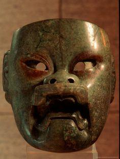 Máscara de Jade Olmeca.