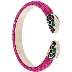 Bulgari Serpenti Forever Bracelet (16,585 DOP) ❤ liked on Polyvore featuring jewelry, bracelets, bulgari jewelry, pink jewelry, berry jewelry, pink bangles and bulgari jewellery Bulgari Jewelry, Pink Jewelry, Jewelry Accessories, Jewellery, Bvlgari Serpenti, Italian Jewelry, Bangles, Jewelry Bracelets, Magenta
