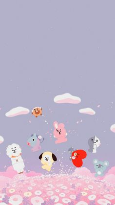 My cousin is a fan of bts so when she say this she literally screamed Wallpapers Kawaii, Kawaii Wallpaper, Wallpaper Iphone Cute, Cute Cartoon Wallpapers, Bear Wallpaper, Locked Wallpaper, Lock Screen Wallpaper, Friends Wallpaper, Wallpaper Collection
