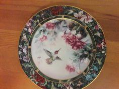 Lena Liu Hummingbird Treasury Plate