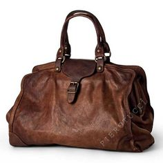 Campomaggi Doctor's Bag, a soft side washed leather tote