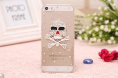 Iphone5s, Cell Phone Accessories, Phone Cases, Fit, Cover, Resin, Plastic, Diamond, Phone Case