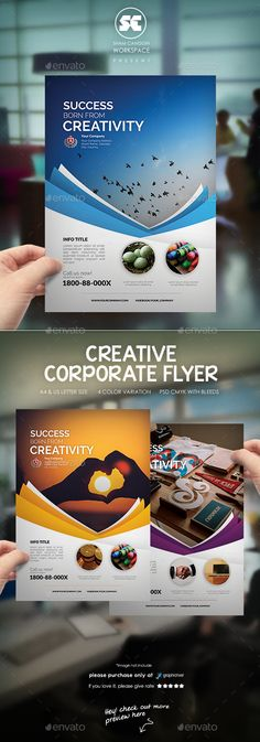 Corporate Business Flyer Template PSD #design Download: http://graphicriver.net/item/corporate-business-flyer/13086267?ref=ksioks